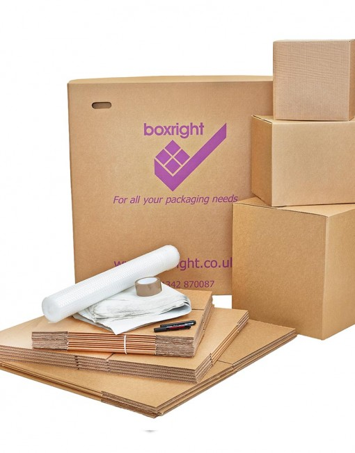 Small Moving Boxes Kit